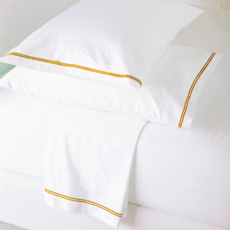 Yellow Dove Flat Sheet Set Glam