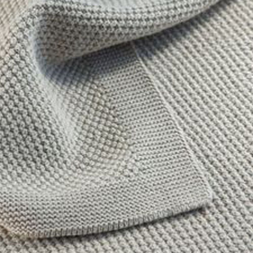 Glam Collections Throws   Moss Stitch