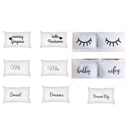 pillowcases glam collections